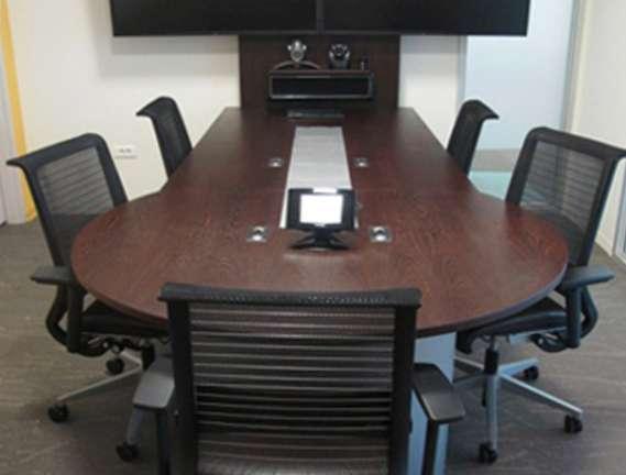 Video conference desk