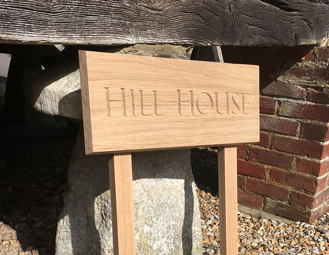 hill house sign