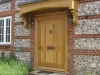 ClockHouse Oak door