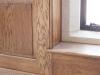 Oak panelling detail