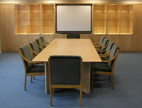 Oak meeting table