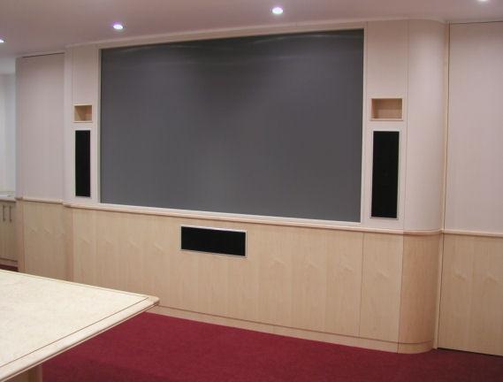 Maple Media wall