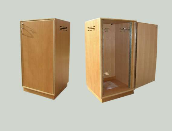 Cedar equipment rack